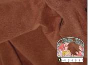 Effen bruine fleece