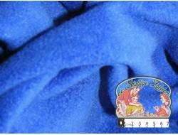 Effen blauwe fleece