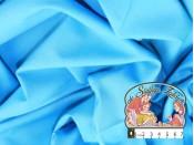 Effen blauw katoen