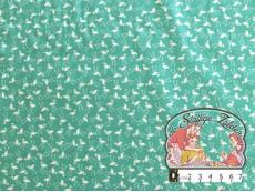 Little flamingo mint cotton