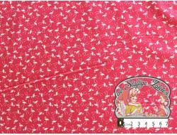 Little flamingo pink cotton