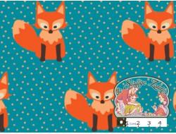 Little fox turquoise
