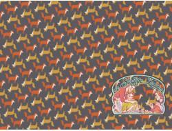 Fox khaki/orange