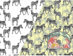 Magic jersey zebra