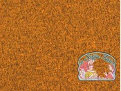 Oker japanees melange gebreid met fleece