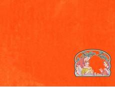 Wortel oranje coral fleece