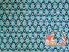 Pinguïn blauw jacquard