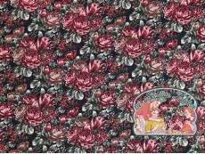 Roses jacquard