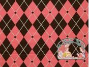 Mies&Moos harlequin roos brushed jogging met glitter
