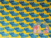Mies&Moos retro big cars ocre brushed jogging