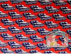 Mies&Moos retro big cars red brushed jogging