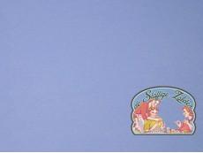 Effen indigoblauw tricot