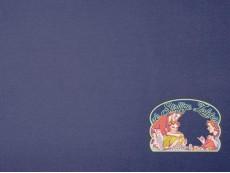 Effen kobaltblauw tricot