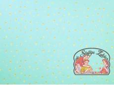 Mies&Moos glitter ijsjes munt tricot