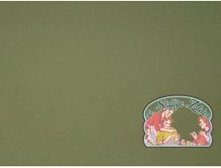 Effen olijfgroen tricot