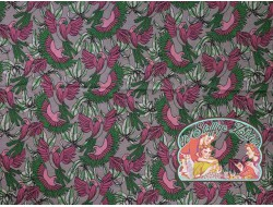 Papegaai weefprint jersey