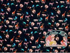 Sarah zoo animals viscose