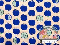 Blauwe appeltjes linnen