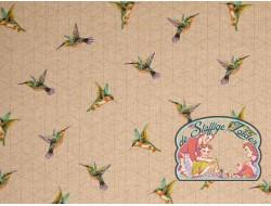 Emil kolibri linnenlook canvas