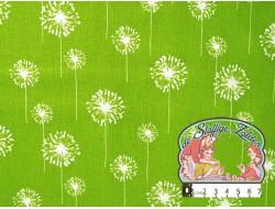 Paardebloem limoengroen canvas
