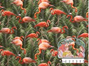 Flamingo tricot palm