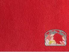 Anja fleece rood