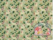 Unicorns garden mint cotton