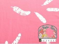 Pluimen tricot roos