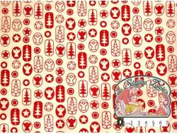Joyful Christmas red