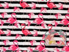 Flamingo stripes jersey