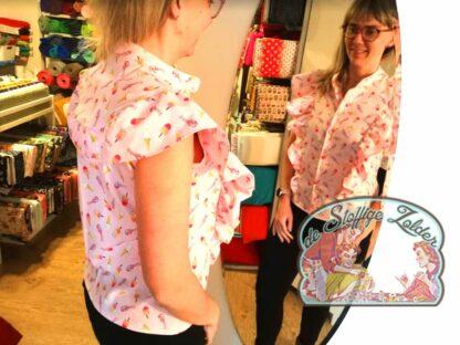 Workshop na beginners: Paulette blouse - dinsdag okt/nov