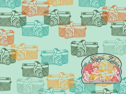 Captured Memories cotton by Alexandra Bordallo