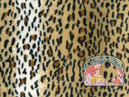 Supersoft leopard fleece