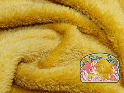 Supersoft ochre fleece