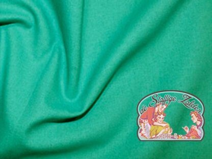 Uni jade aquagreen cotton