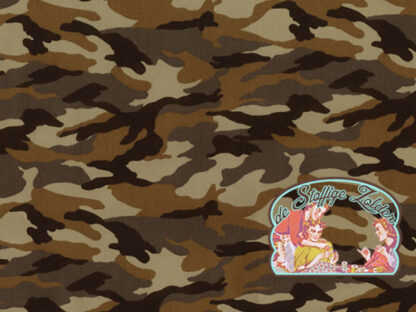 Army camouflage forest cotton