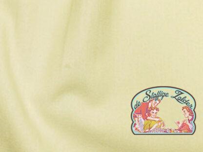 Uni creme white cotton