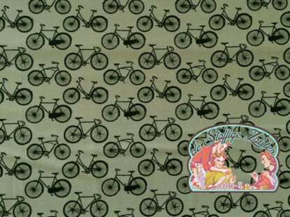 Cycling black grey cotton