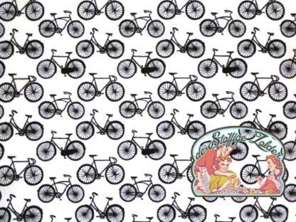 Cycling black white cotton
