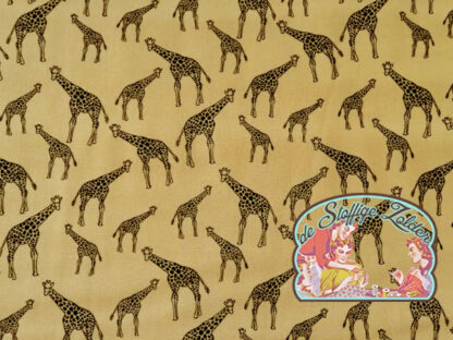 Giraffe beige cotton