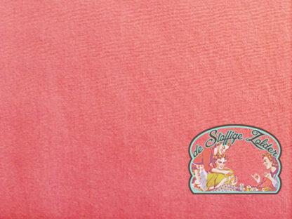 Uni coral pink cotton