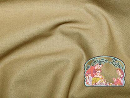 Uni silver mink light brown cotton