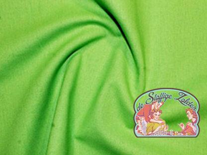 Uni lime light green cotton