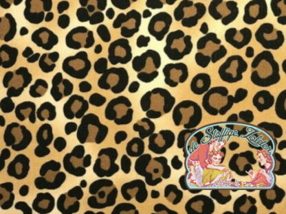 Leopard skin cotton