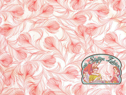 Feather pink cotton