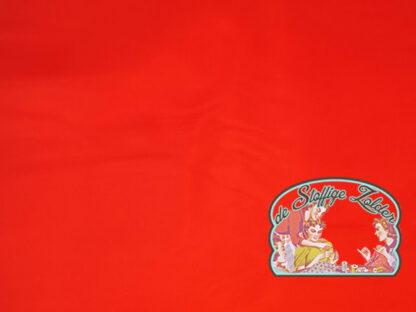 Voeringstof rood polyester