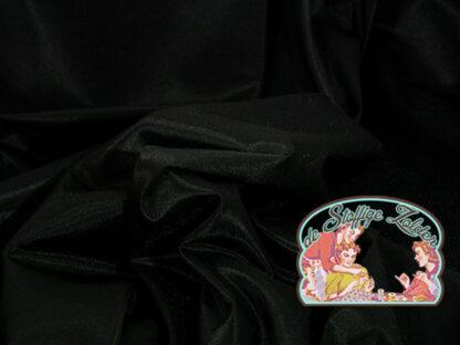 Voeringstof zwart polyester
