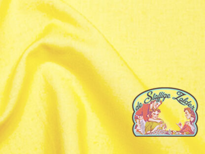Uni sunshine yellow cotton
