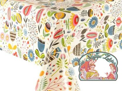 Tafelzeil toile cirée oilcloth summer garden