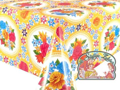 Tafelzeil toile cirée oilcloth rosario yellow